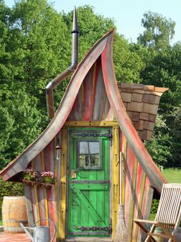 Des vraies maisons de lutins