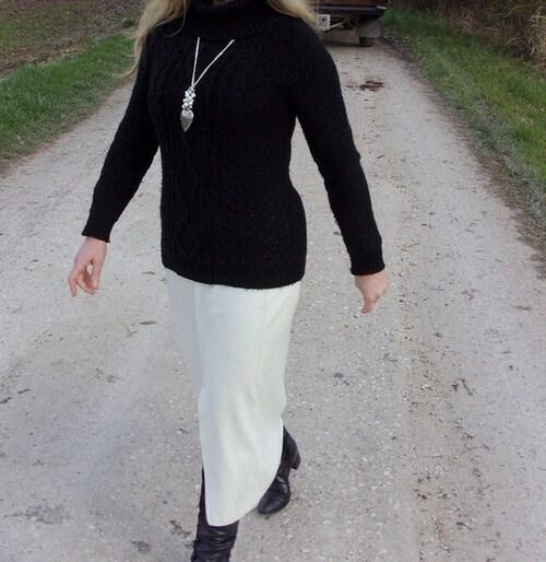 Sautoir coeur argenté avec ses perles de cultures fantaisie réalisé par Sylvie le Brigant