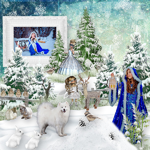 MAGIC SNOW QUEEN WINTERLAND
