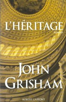 L'héritage - John Grisham