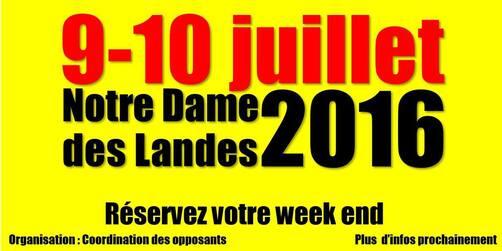 Déclaration du Collectif national des Syndicats CGT du Groupe Vinci à propos de la consultation du 26 juin sur le projet d'aéroport de Notre Dame des Landes (30/06/2016)