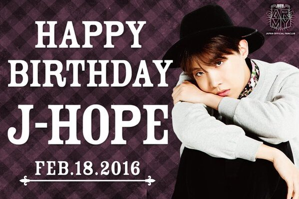 J-Hope's birthday
