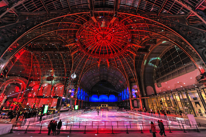 La patinoire géante du Grand Palais est de retour !
