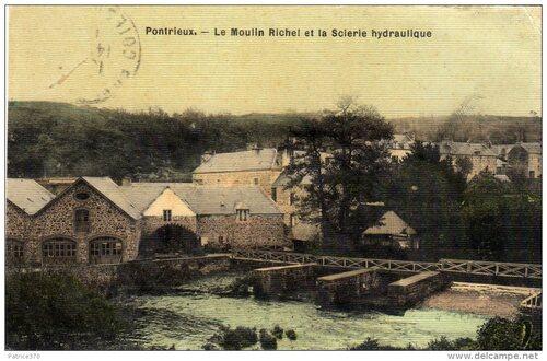 -Moulin Richel et scierie hydraulique (Pontrieux)