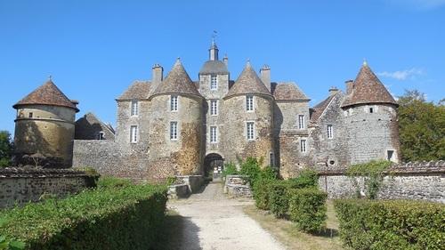 Château de Ratilly, Treigny (89)