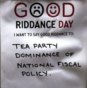 Good riddance 1