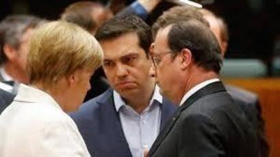 Le « compromis Hollande – Merkel » : la GRÈCE placée au sein de l'Union européenne, dans une colonie pénitencière-par Jean LÉVY (13/07/2015)