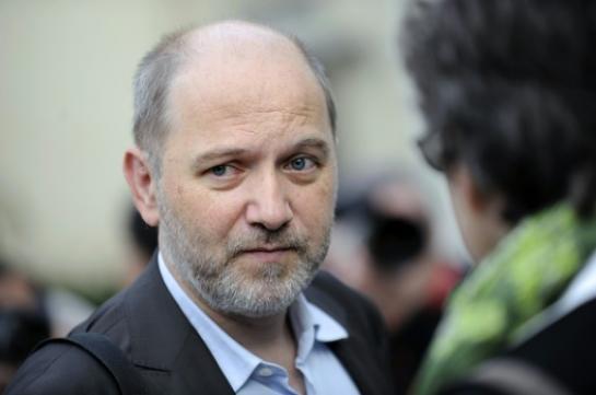 Le député Denis Baupin (EELV) à Nantes le 18 septembre 2012