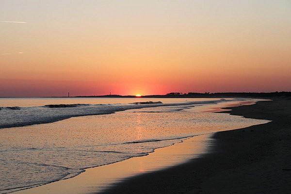 coucher de soleil sur Bonne Anse depuis la Grande Côte14