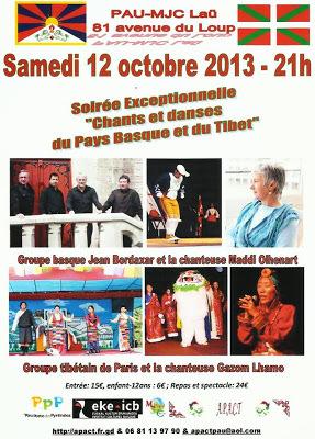 fête pour le Tibet 2013 à Pau béarn