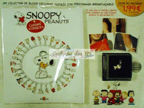 N° 1 Charms iconiques Snoopy - Test