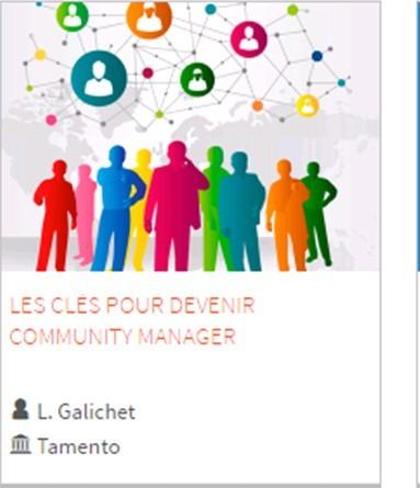 Un MOOC (cours en ligne gratuit) pour devenir « Community manager » …