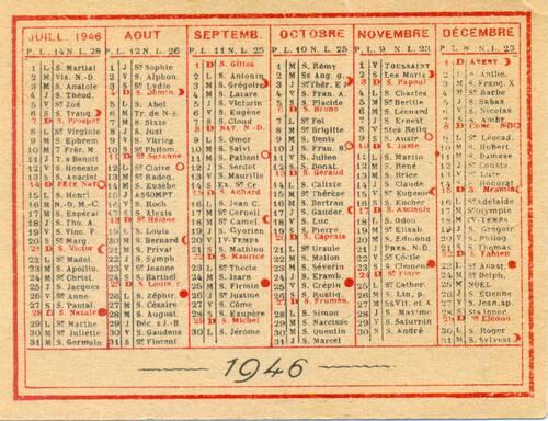 l'année 1946