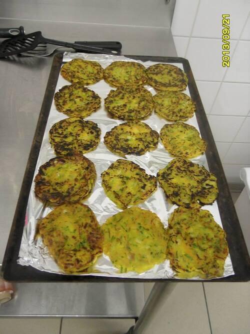 Tortillas de légumes