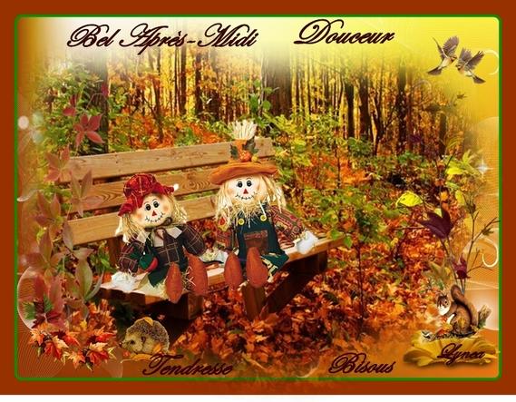 bel apres-midi-douceur-tendresse bisous automne de lynea - BON APRES-MIDI-MATIN  - lynea18 - Photos - Club Doctissimo