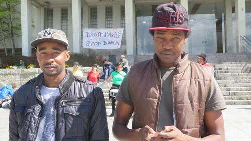 Le Soudanais Hassane et le Tchadien Adam, tous deux menacés d'expulsion par la procédure Dublin.
