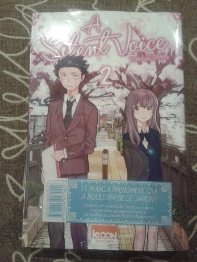[03/2015] Achat manga #4