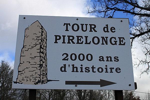 st romain de benet 17 tour de Pirelonge