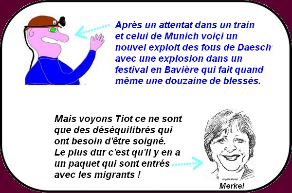 Polémique à Nice, trump et la France