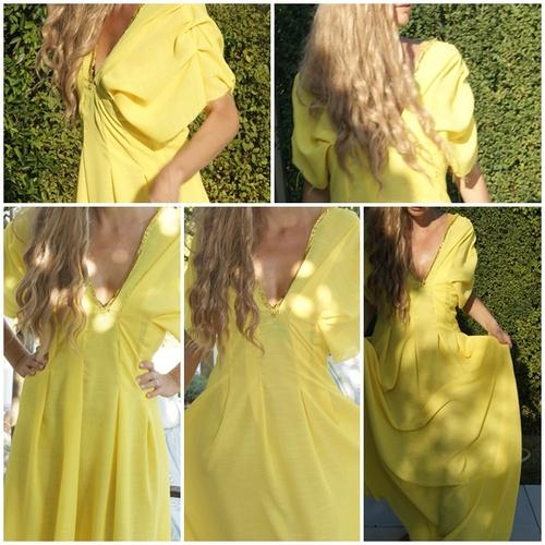 Robe jaune Myrcella