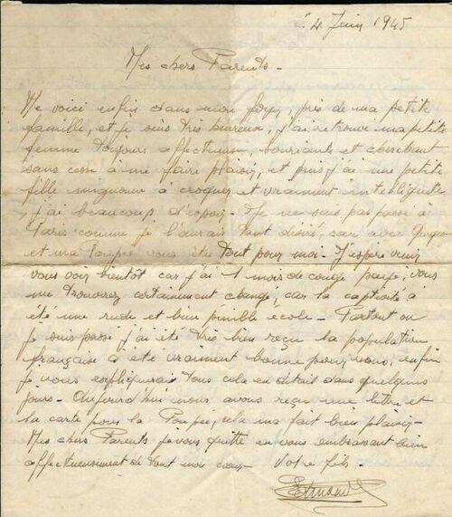 Lettres d'un prisonnier à ses parents