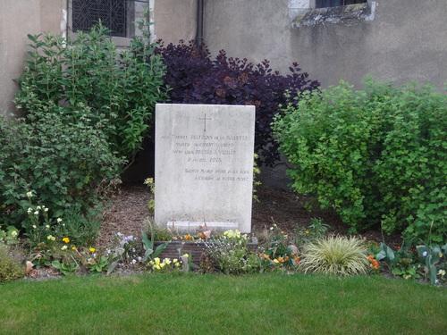 La stèle commémorant l'accident de Vizille a été nettoyée