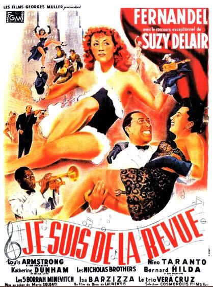 JE SUIS DE LA REVUE - BOX OFFICE FERNANDEL 1951
