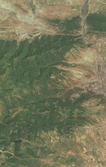 la bataille de didgori s'est déroulé dans les montagnes situées à l'ouest de