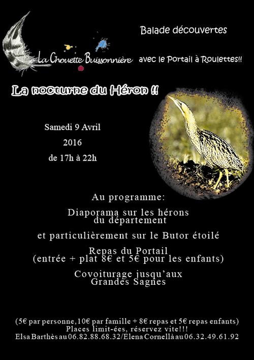 Nocturne du Héron!!