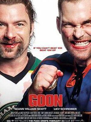 Goon : Le dernier des durs à cuire : Après une énième commotion, Doug Glatt, un homme fort du hockey, doit oublier son rêve des ligues majeures et se contenter d'une carrière de vendeur d'assurance, comme le lui suggère fortement sa femme Eva qui est enceinte. Mais Doug ne peut résister aux sirènes des Highlanders, et met tout en branle pour retrouver sa gloire d'antan....-----...GENRE Comédie  ORIGINE États-Unis DATE DE SORTIE AU QUÉBEC 17 mars 2017
