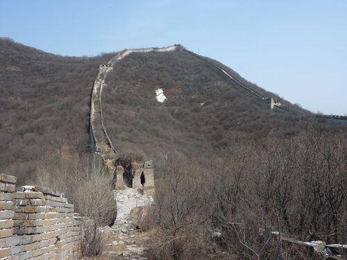 Balade sur la grande muraille