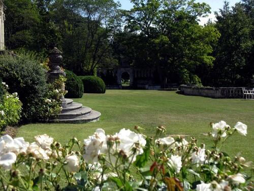 Parc au pied du château