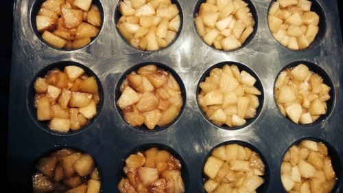 Recette mini tatin au pomme