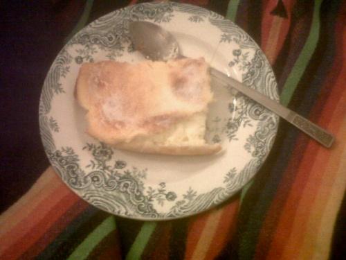 de l'utilisation du fromage blanc #3 : gâteau de Cléa