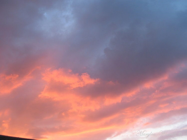 Ciel du mercredi soir