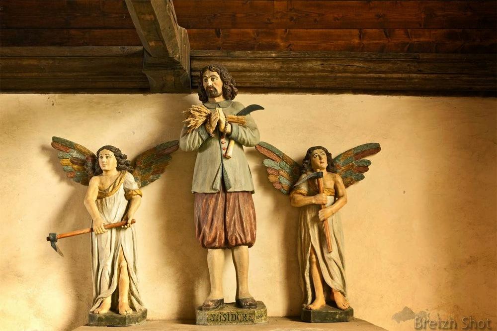 Saint-Isidore, chapelle des Sept-Saints - Le Vieux Marché