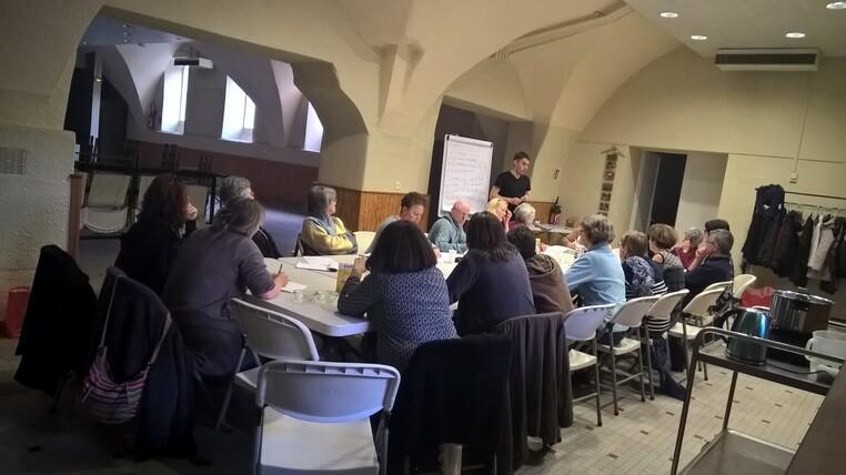 Ateliers produits ménagers pour l'Université Populaire du Centre Ardèche