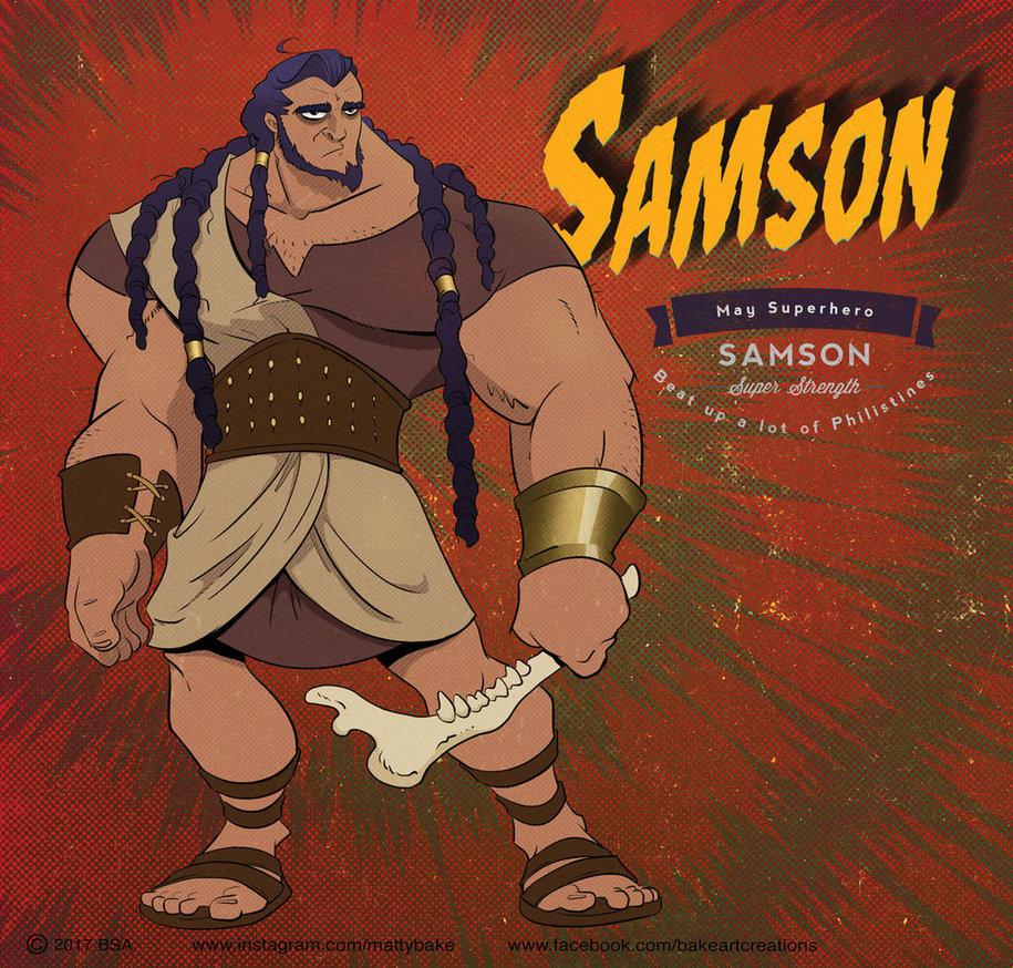 Samson by PrisonerOnEarth