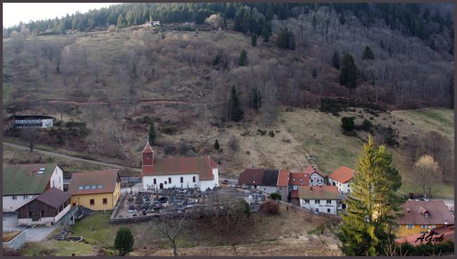 du Hohneck au Valtin (Vosges - mars 2017)