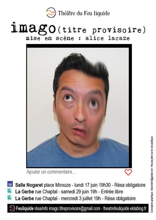 Représentations Imago (titre provisoire) - Montpellier