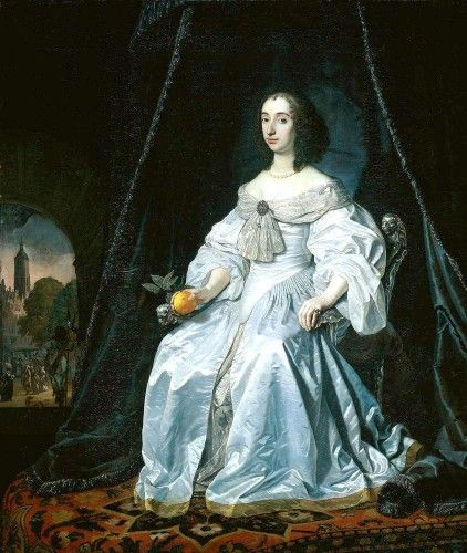 Mary, Princess Royal and Princess of Orange, 1652, Bartholomeus van der Helst 1652