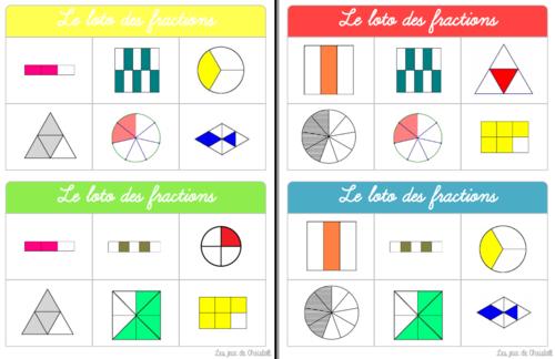 Le loto des fractions