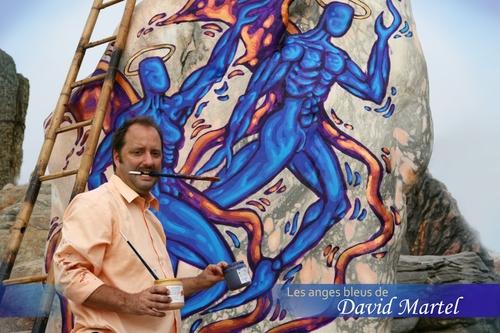 Les anges bleus de David Martel