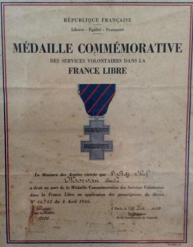 * Emile Morvan - Un Français Libre