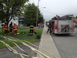 Semaine bien remplie pour les pompiers et PR médicaux du SSI de Lambton.....