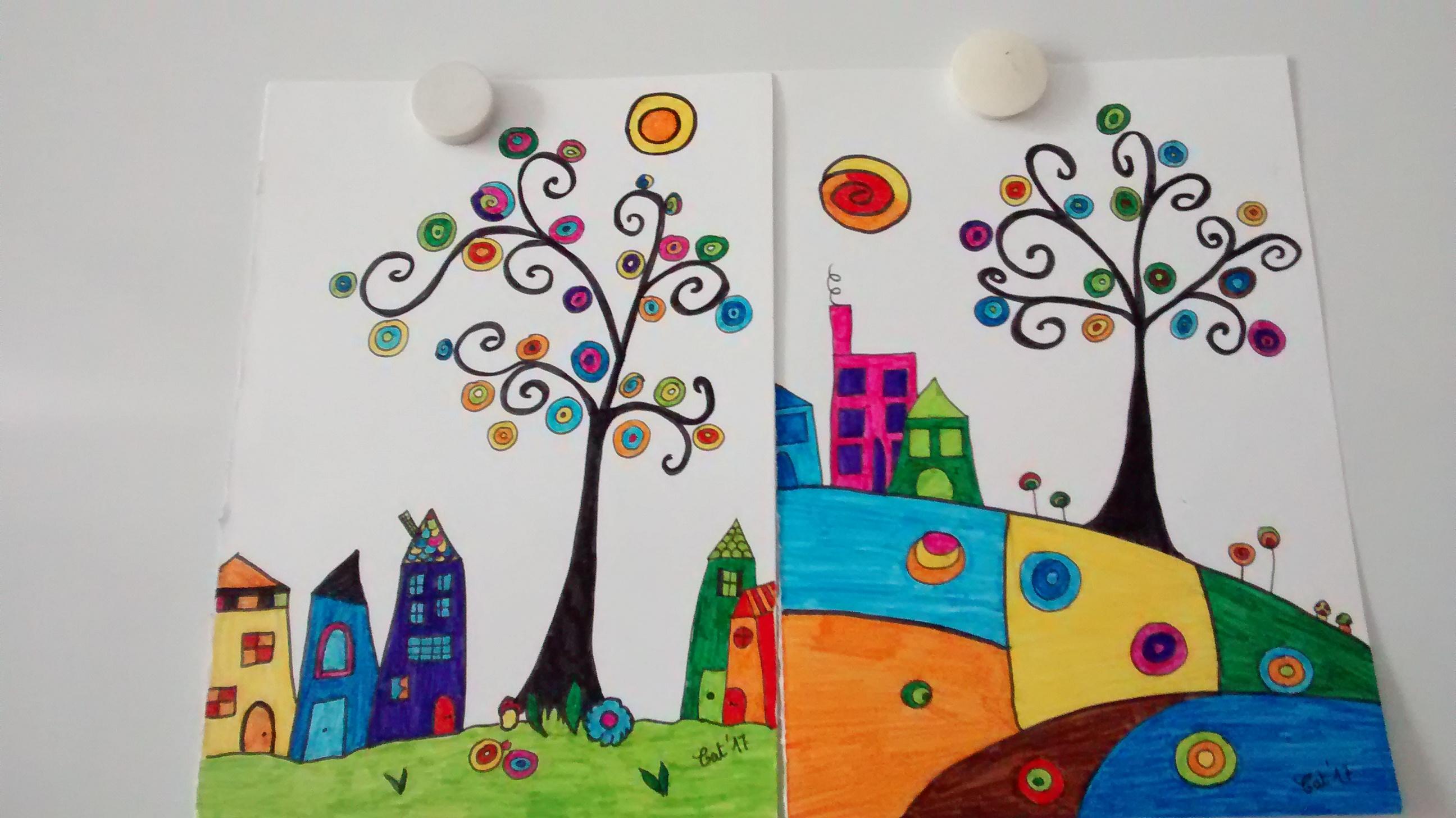 Les arbres d'automne