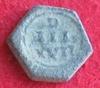 Poids pour le demi teston Louis XII à Henri III