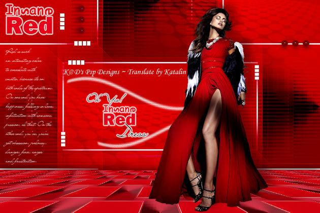 K@D's Psps Designs ~ Insane Red