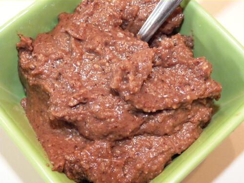 Recette de la Pâte à tartiner au chocolat (ou Nutel.. Maison)