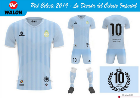 Nouveau maillot Real Garcilaso 2019 Domicile